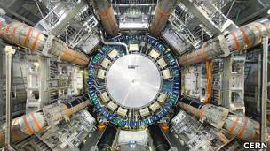 El colisionador de hadrones del CERN.