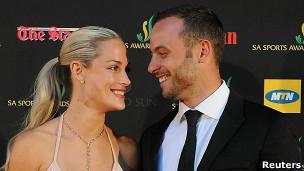 Reeva Steenkamp y Oscar Pistorius