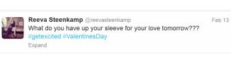 Tweet Reeva Steenkamp