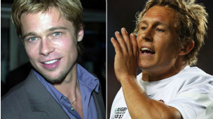 Brad Pitt y Jonny Wilkinson