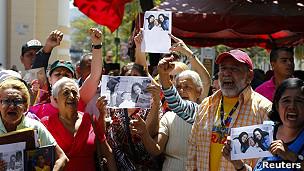 Seguidores de Chávez