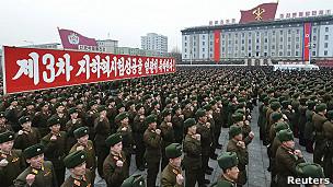Celebración Corea del Norte