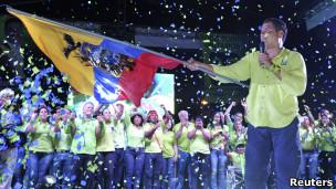 Presidente Rafael Correa (foto: Reuters)