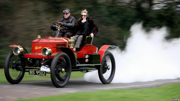 Autos de vapor