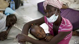 Dịch tả lan tràn tại Haiti