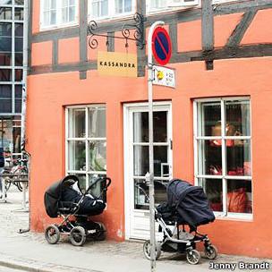 Café em Estocolmo. Jenny Brandt