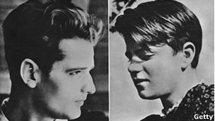 Hans Scholl (esq.) e sua irmã, Sophie, foram presos e executados (Getty)