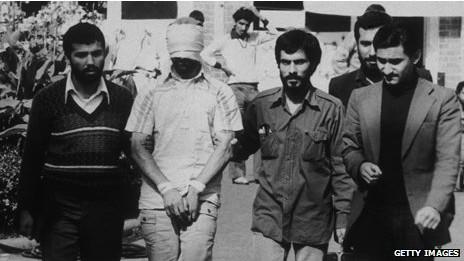 Imagen de archivo de la toma de la embajada en Teherán