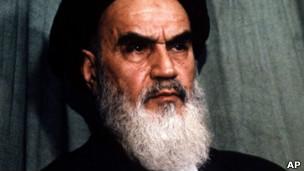 El ayatola Jomeini