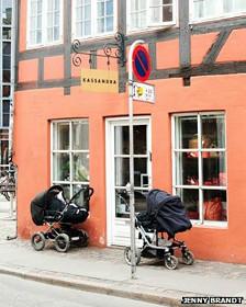 Coches en Copenhague
