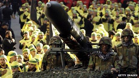 """Боевики """"Хезболлы"""""""