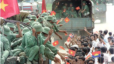 Binh lính Việt Nam rời Battambang hôm 22/9/1989