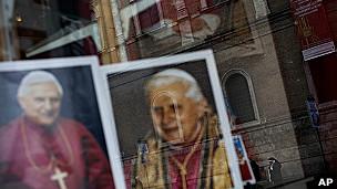 Papa Bento 16 (Foto AP)