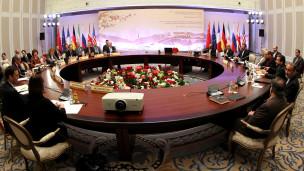 Conversaciones en Kazajistán
