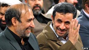 احمدی نژاد به جای حضور در برابر نمایندگان، فروزنده را با لایحه بودجه به مجلس فرستاد