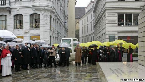 El Papa en Austria