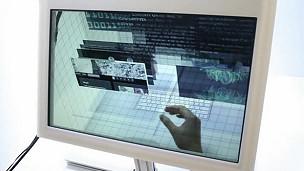 Computadora 3D Foto archivo