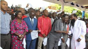 Wagombea uchaguzi wa Kenya