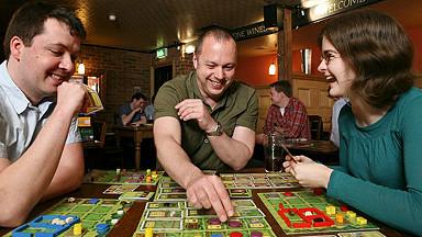 Jugadores de juegos de mesa