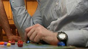 Jugador de juegos de mesa
