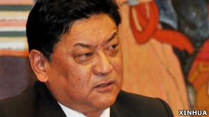 西藏人大常委会主席白玛赤林(新华社资料图片)