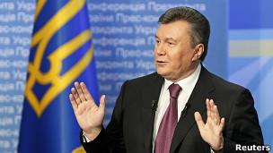 Президент Украины в изгнании Виктор Янукович