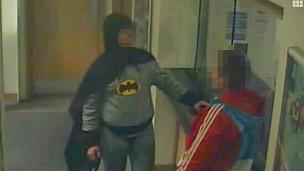Foto del Batman de Bradford
