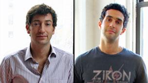 Sal Lahoud (izq.) y Oren Bass, cofundadores de Pave