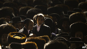 Congregación de judíos en Israel