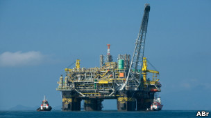 Plataforma de petróleo (Foto ABr)