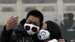 Polución en Pekín