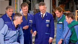 Trabajadores de BMW