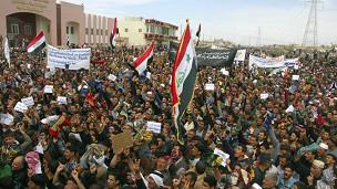 مظاهرات في الموصل