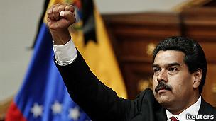 Presidente Maduro (foto Reuters)