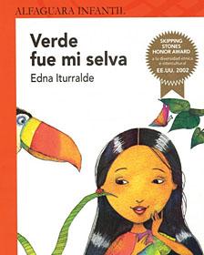 """Portada de """"Verde fue mi selva"""", de Edna Iturralde"""
