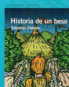 "Portada de ""Historia de un beso"" de Sebastián Pedrozo"