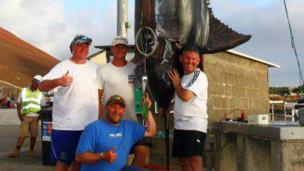 Inglês pesca marlim de quase 600 quilos - BBC Brasil - Notícias