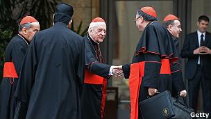 Cardenales antes del cónclave