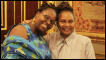 International Playwriting Competition 2012 winners Angella Emwuron and Janet Morrison