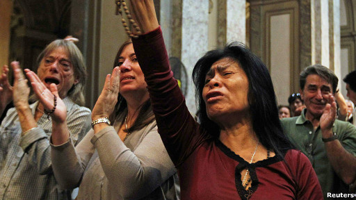 Argentinos / Foto: AP