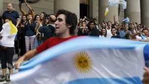 Người dân Argentina ăn mừng tân giáo hoàng đồng hương