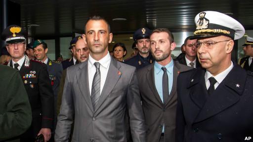 Massimiliano Latorre dan Salvatore Girone