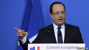 Hollande, presidente de Francia