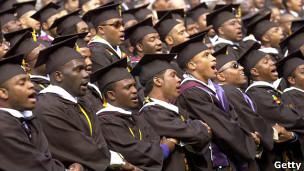 Estudiantes Universitarios negros