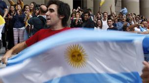 Argentino. Foto: Reuters