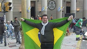 O estudante Danilo Junqueira (Foto: Marcia Carmo)