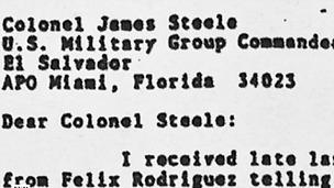 Imagen tomada del documental James Steele, el hombre misterioso de Estados Unidos en Irak
