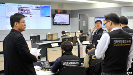 韓國三家電視台和六家金融機構的共3.2萬餘台電腦和服務器遭到了攻擊