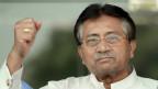 L'ancien président Musharraf à son retour à Karachi