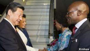 中国国家主席习近平访问南非